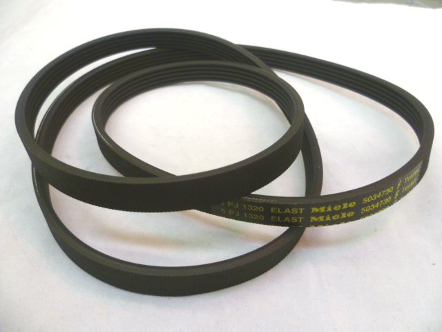 Description of MIELE POLY V BELT 6PJ1320 5PJ1320 5034730 4073283