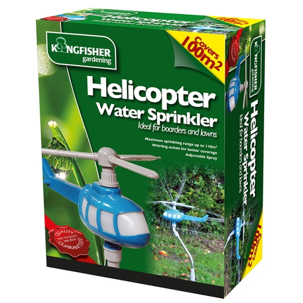 Description of Helicopter Rotating Garden Water Sprinkler