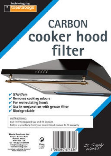Description of Carbon Cookerhood Filter 47x57cm