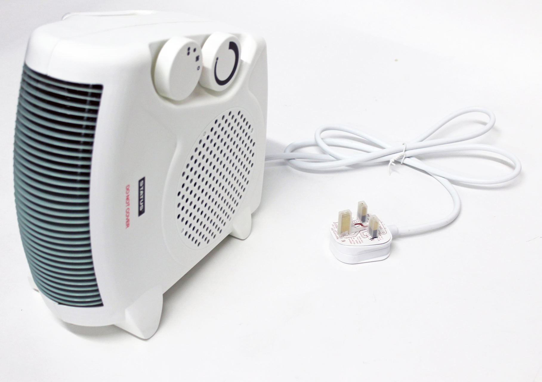 DUAL POSITION FAN HEATER 1000W / 2000W PORTABLE