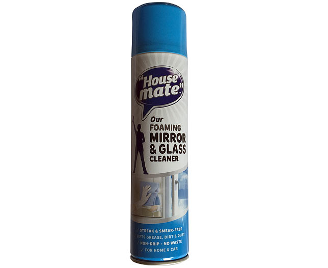 Description of HM FOAMING MIRROR AND GLASS CLEANER 400ML