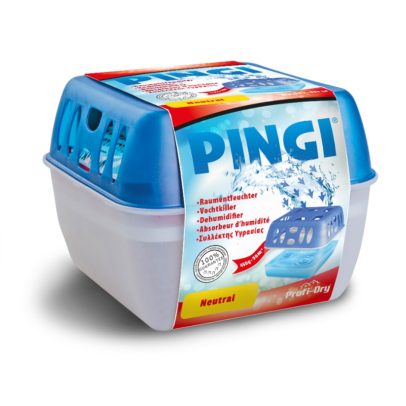 Description of PINGI PROFI-DRY DEHUMIDIFIER 450G