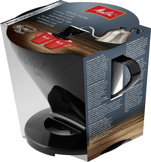 Description of Melitta coffee filter holder 1x4