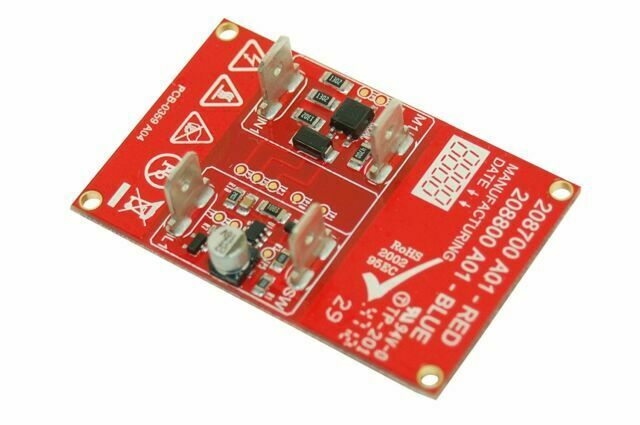 NUMATIC AUTOSAVE 2 SPEED CONTROL PCB RED