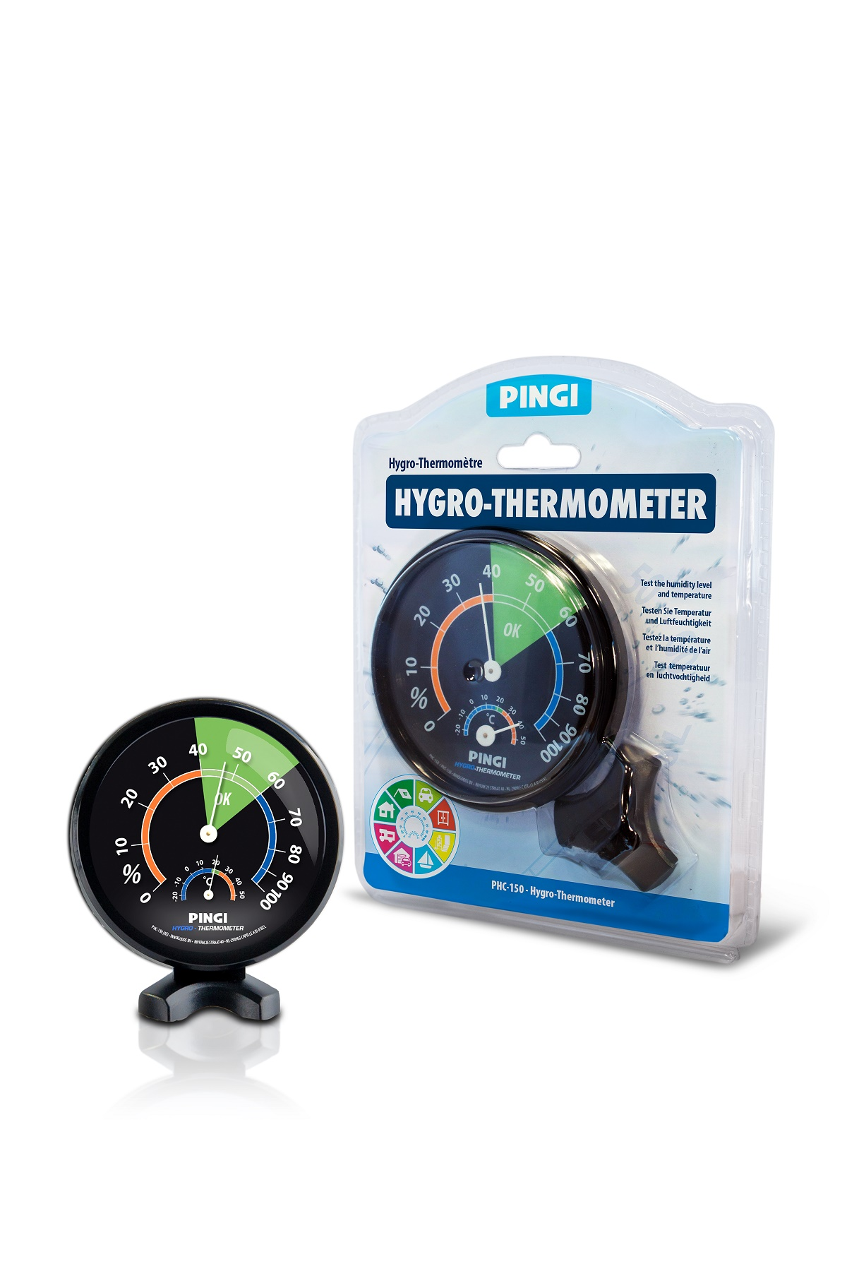 Description of PINGI HYGRO-THERMOMETER