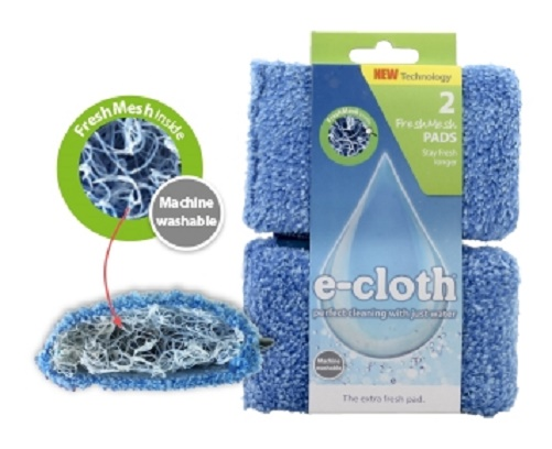 Description of 2 X E-CLOTH CLEANING PAD FRESH MESH
