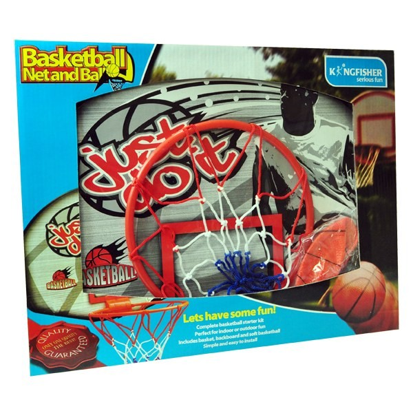 Description of DISCONTINUED BASKETBALL NET AND PLAY SET