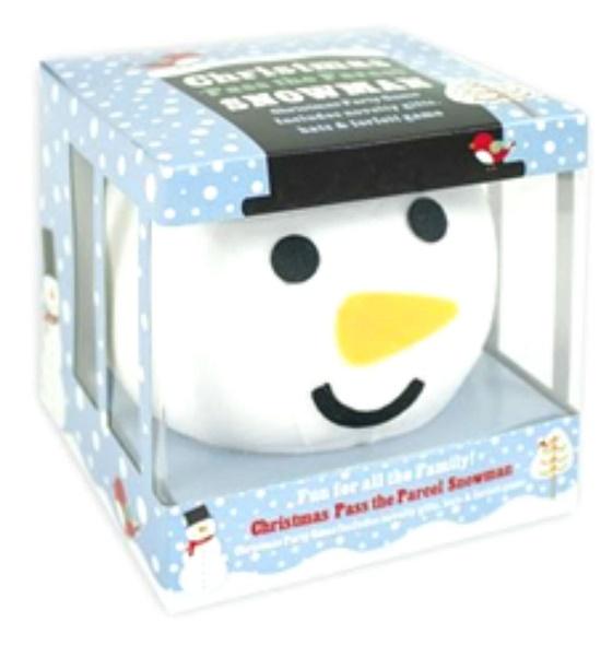 Description of Christmas 'Pass the Parcel' Snowman
