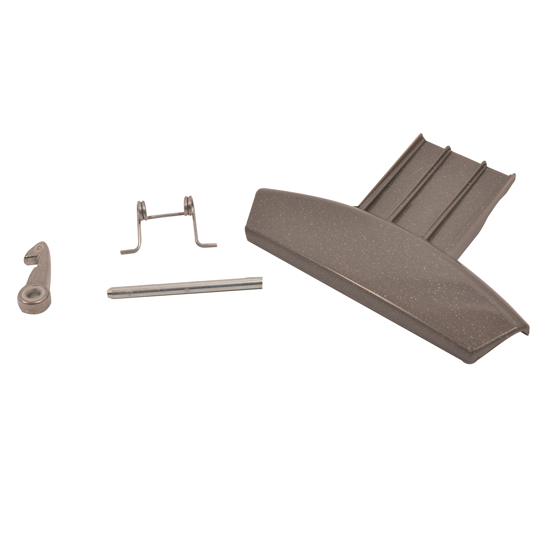 Description of DOOR HANDLE KIT COMPLETE GRAPHITE HOTPOINT