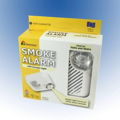 Description of EI Smoke Alarm With Escape Light