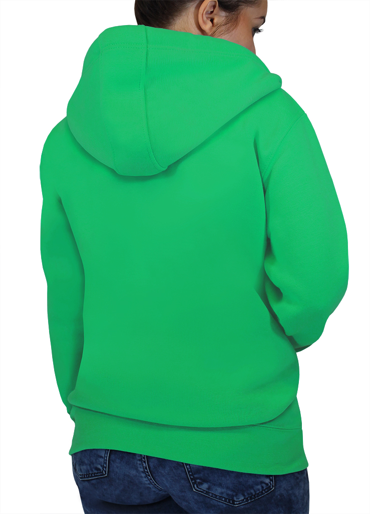 Description of ZIP HOODIE iPOD & PHONE POCKET XS PEAPOD / ORCHID