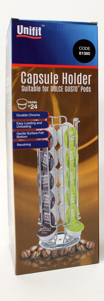 use glm33991 2 unifit dolce gusto capsule holder 81380. Black Bedroom Furniture Sets. Home Design Ideas